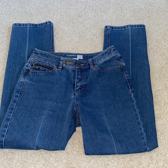 Liz Claiborne Straight Leg Fit Jeans